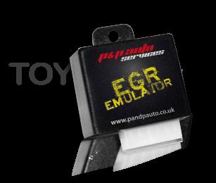 Toyota Hilux EGR emulator