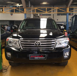 Toyota Land Cruiser DPF removal